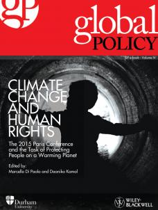 Climate Change and Human Rights: The 2015 Paris Conference and the Task of Prote