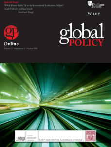 Special Issue - Global Power Shifts: How do International Institutions Adjust?