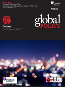 Special Issue - Precarity, Mobility and the City